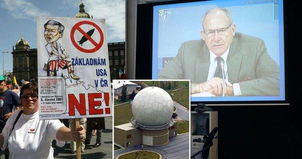"""Američané se kají za plánování radaru v Brdech: """"České přátele jsme zaskočili"""""""