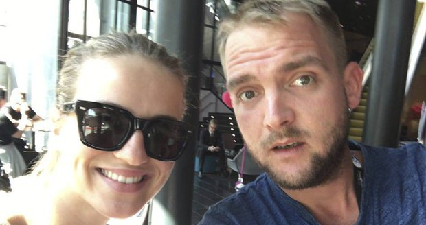 Libor Bouček je s Gábinou ve Švédsku na Eurovizi.