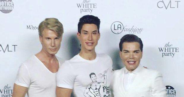 Robert Paulát vypadá oproti Kením kolegům Justinovi a Rodrigovi ještě relativně normálně. Je totiž nejpřírodnější…