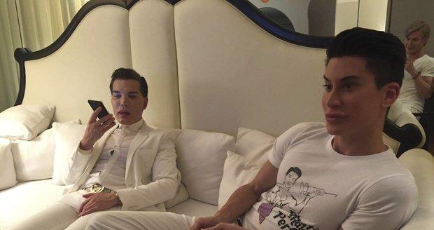 Rodrigo Alves a Justin Jedlica