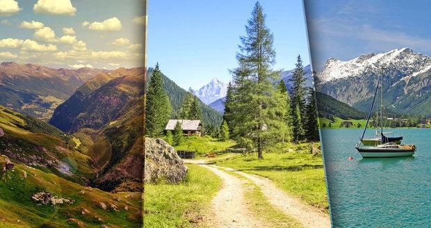 Letní Alpy lákají k pěší turistice! Vyražte objevit Rakousko z vrcholků hor