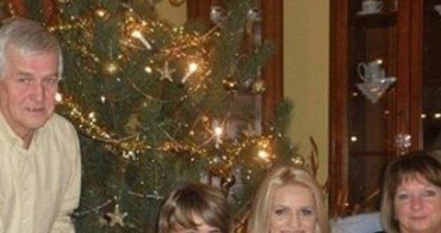 S rodinou na Vánoce