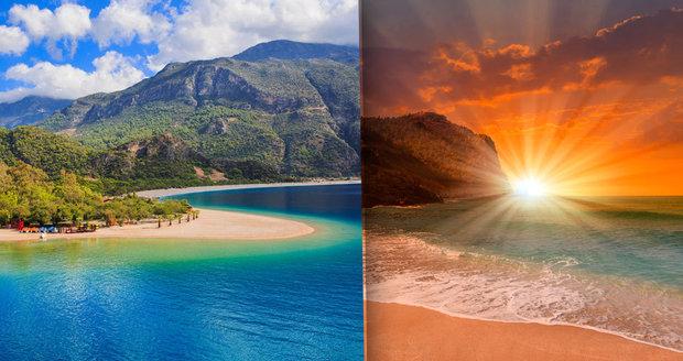 Nejkrásnější pláže v Turecku