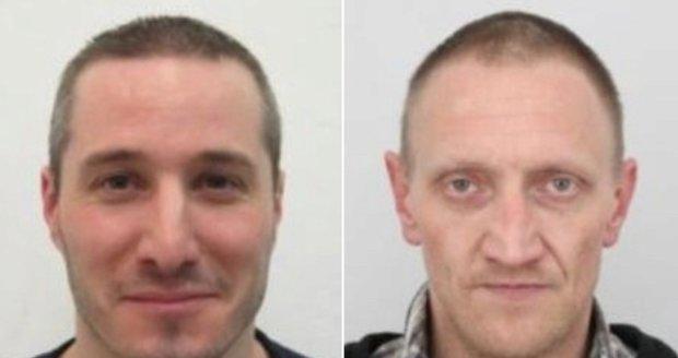 Policie zadržela oba uprchlé vězně: Jednoho poznala policistka ve svém volnu