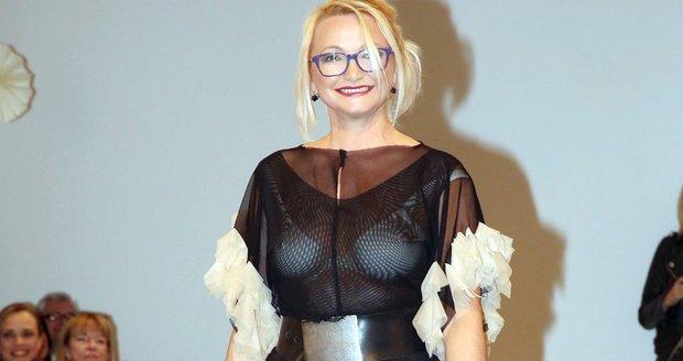 Anna Šišková v odvážném modelu