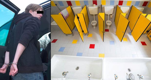 Znásilnění na základní škole: Chlapec zneužíval spolužáka na záchodech