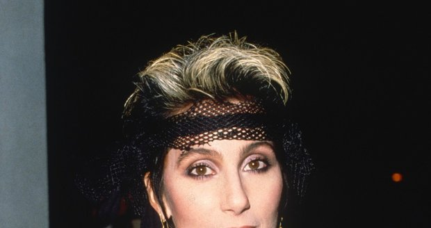 Zpěvačka Cher v roce 1990
