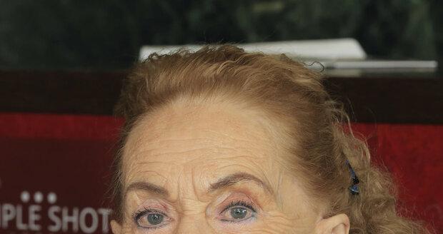 Operní pěvkyně Soňa Červená