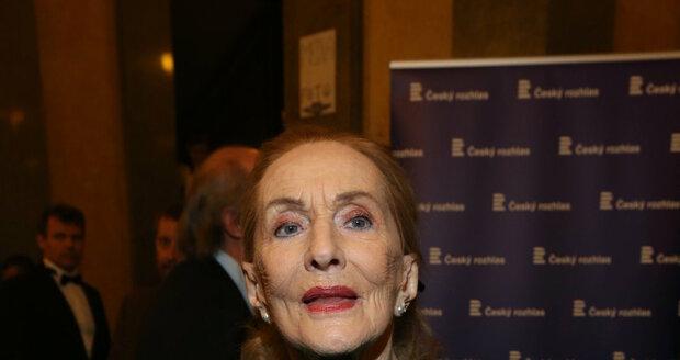 Operní pěvkyně Soňa Červená žila od roku 1962 v cizině.