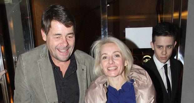 Marek Navrátil byl druhým manželem Veroniky Žilkové a otec jejího syna Vincenta.