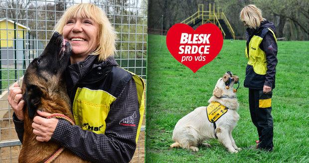 Zuzana Daušová cvičí psy v organizaci Helppes už patnáct let.