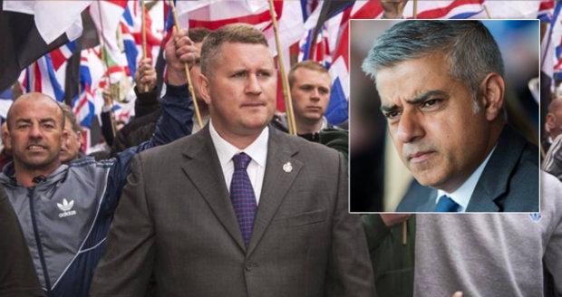 """""""Pryč s muslimskými okupanty."""" Starostovi Londýna se postavili radikálové"""