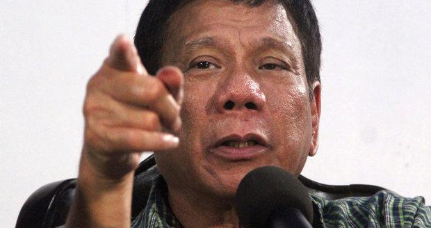 Zabíjení mizerů mezi novináři je v pořádku, prohlásil nový prezident Filipín