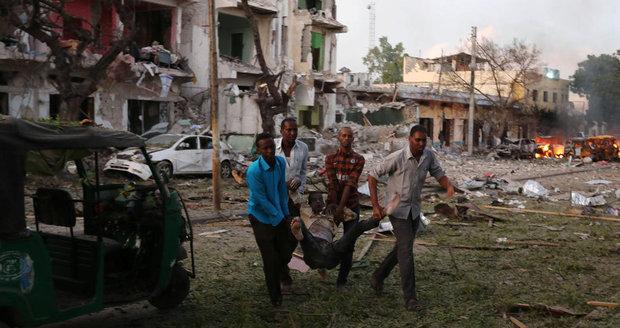 Útoky v somálském Mogadišu