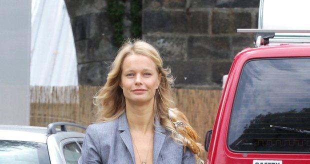 Helena Houdová se na skok objevila v Česku.