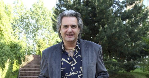 Moderátor Slávek Boura