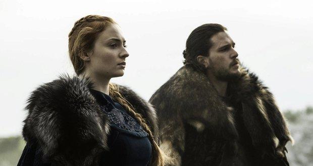 Bastard Sníh a pravá Starková.