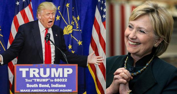 Hillary je ďábel a založila ISIS! vykřikoval Trump. Sponzoři se drží za hlavu
