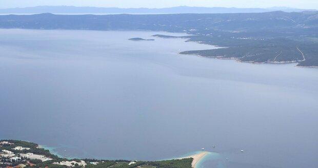 Chorvatský ostrov Brač