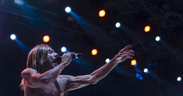 Iggy Pop v Praze