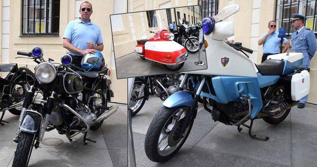 Unikátní výstava motocyklového parku Hradní stráže: První stroje zbyly po nacistech!