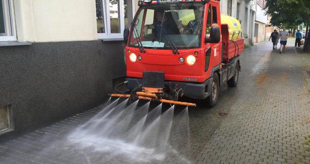 V Horních Počernicích se začátkem června schyluje k čištění ulic. (ilustrační foto)