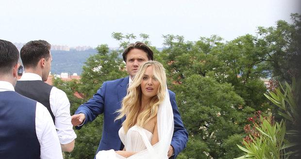 Svatební focení Ondřeje Gregora (Brzobohatého) a Taťány Kuchařové