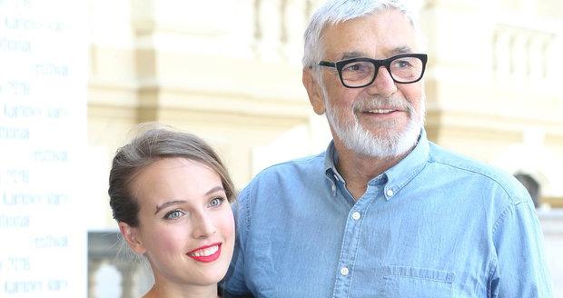 Tereza Voříšková a Jiří Bartoška