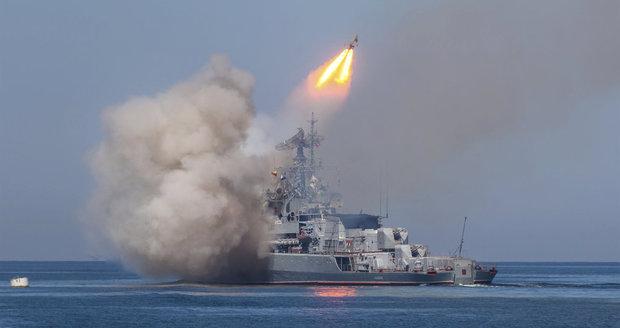 Rusové otestovali rakety osmkrát rychlejší než zvuk. Mají být na ponorkách
