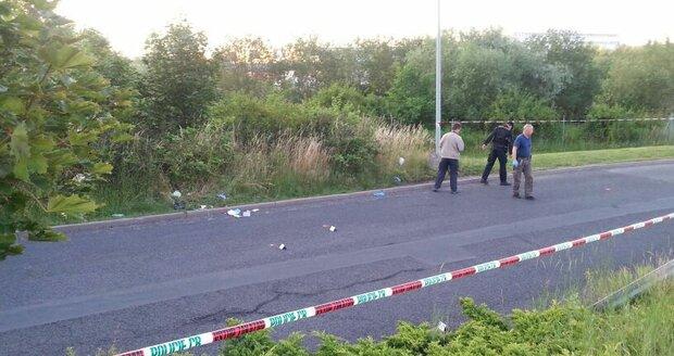Policisté dopadli ihned po střelbě dva muže.