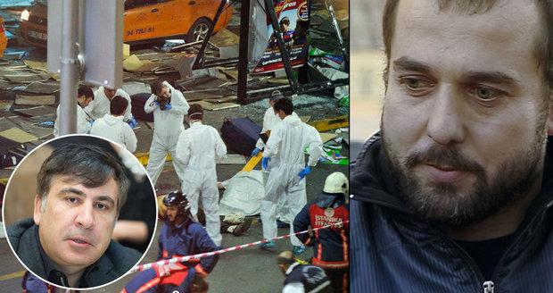 Útoky v Istanbulu: Terorista prý pracoval pro guvernéra Oděsy Saakašviliho