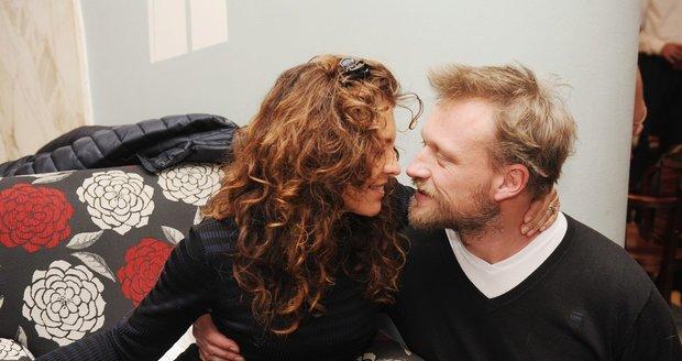 Eva Jeníčková s manželem Viktorem Taušem
