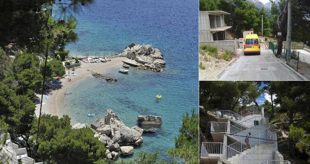 Smrt na chorvatské pláži: Kvůli vrtochu milionáře turistu nezachránili