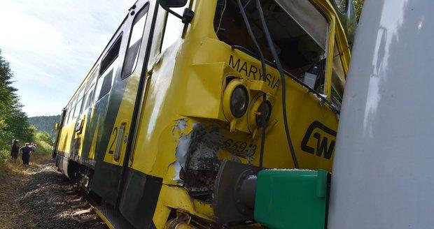 V Hradci Králové se srazily dva vlaky: Nikdo nebyl zraněn