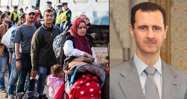 Místo smrti doživotní práce. Bašár Asad amnestií láká zpátky i uprchlíky