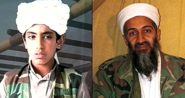 Syn Bin Ládina vyhrožuje džihádem a přísahá: Smrt otce pomstím