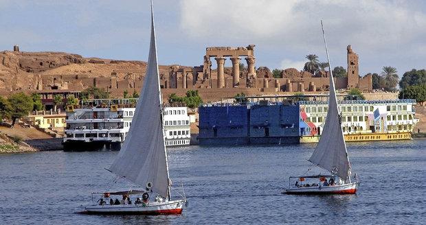 řeka Nil, Asuán, Egypt