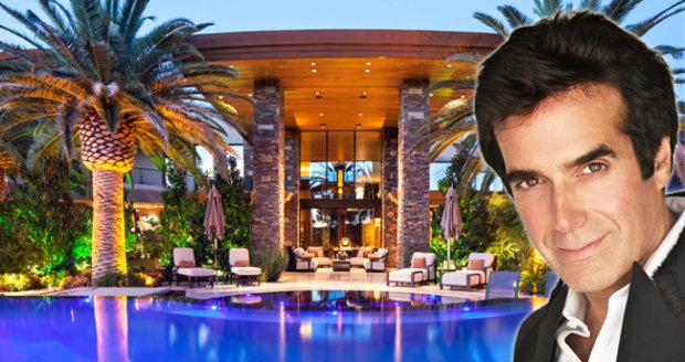 David Copperfield nechal zmizet 17,5 milionu dolarů! Proměnil je v pohádkové sídlo v Las Vegas!