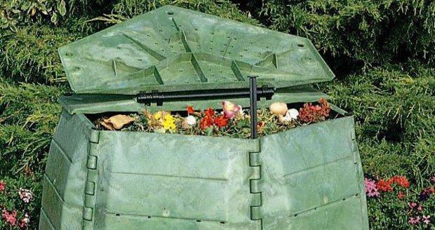 Radnice Prahy 7 rozdává zájemcům kompostéry (ilustrační foto).