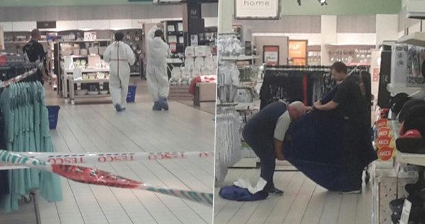 Vražda v Tesku na Andělu: Žena mezi regály po hádce ubodala druhou