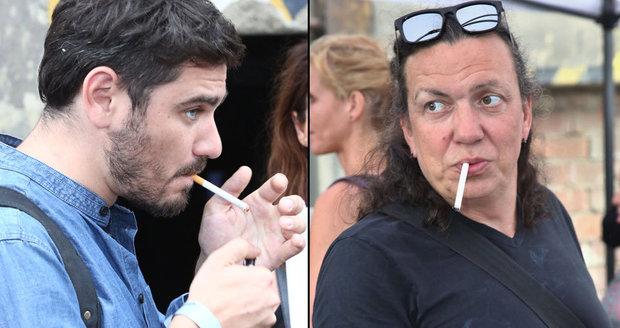 Slavné kouření celebrit