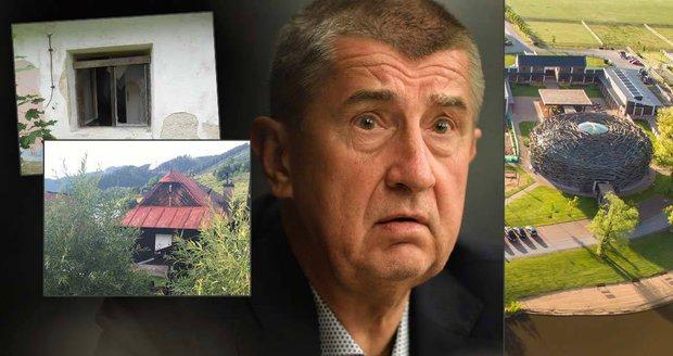 Babiš na Slovensku rozprodává domy a chalupy. Čapí hnízdo neopouští