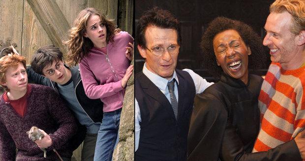 Dospělý Harry Potter a černošská Hermiona váleli, divadelní hra o čarodějovi uspěla