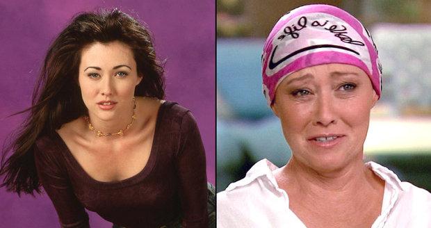 Brenda z Beverly Hills přišla kvůli rakovině o prs, s nemocí však herečka Shannen Doherty bojuje dál