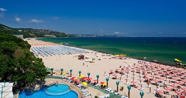 Městečko Albena je nazýváno perlou severního Bulharska.