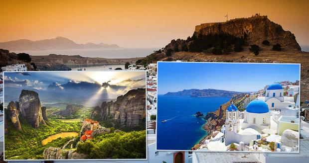 Nejhezčí památky Řecka