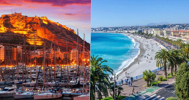 Nejkrásnější pláže Evropy nejsou jen v oblíbených letoviscích, ale mohou být i ve městech.