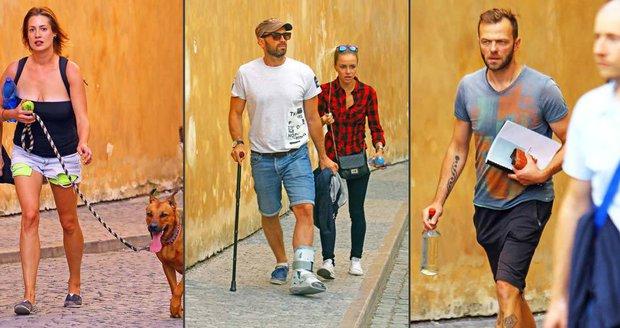 Jak si chodí české celebrity v pražských ulicích?