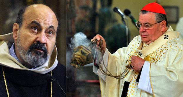 """Halík vs. Duka: Vztah k islámu, """"mohamedánům"""" i Zemanovi rozdělil katolíky"""