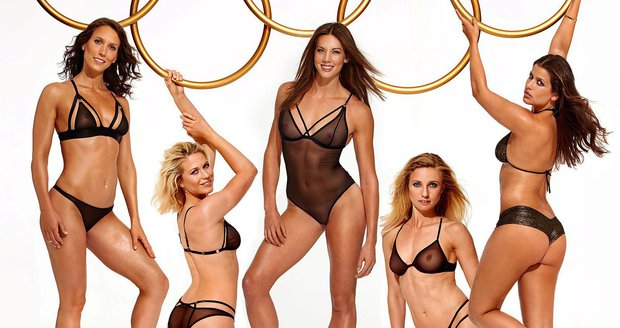 Německé olympioničky se svlékly pro Playboy. Výsledek vám vyrazí dech